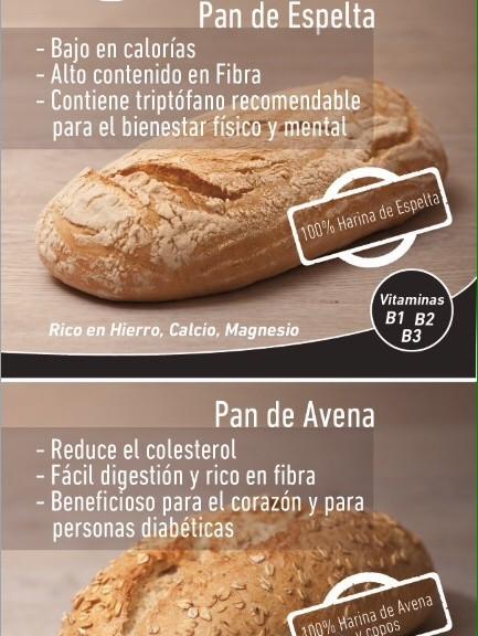 Pan de Espelta y Pan de Avena