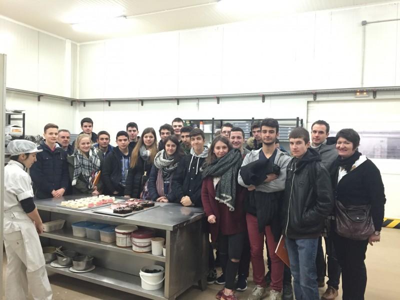 Alumnos Franceses en nuestras instalaciones